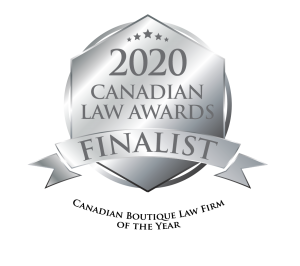 Roper Greyell nominated for 2020 Canadian Boutique Law Firm of the Year